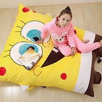 """Кровать детская в форме """"Игрушка Спанч Боб"""""""