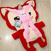 """Кровать детская в форме """"Анимэ Лиса"""""""