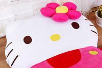 """Кровать детская в форме """"Игрушка Хелло Китти"""""""