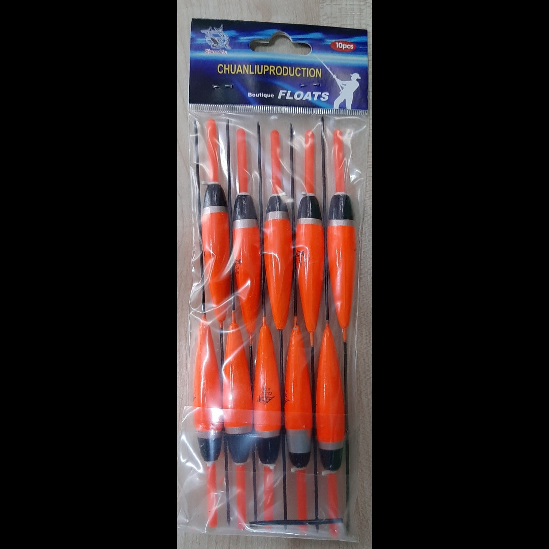 Поплавки Chuanliu 10 шт 4 грамма