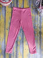 Лосины утепленные для девочки розовые, C&A, (122 см)