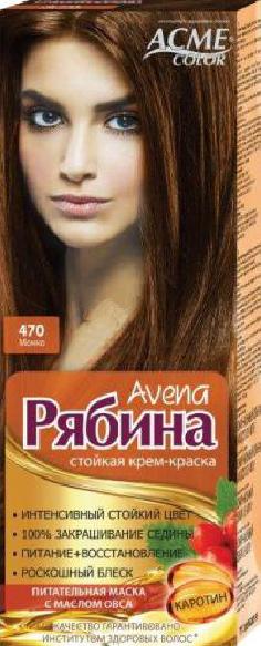 """Крем-краска Acme Рябина Avena """"№470 Мокко"""""""