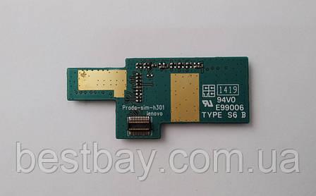 Разъем Sim-карты и карты памяти для Lenovo P780, фото 2