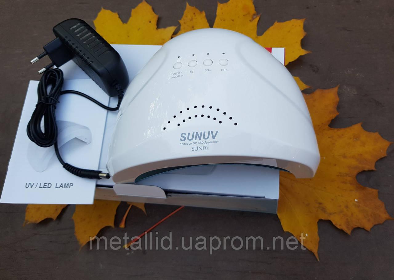 SUNUV LED Лампа Сан Ван 48W sun one 48вт профессиональная лампа для сушки ногтей Sun 1 ОРИГИНАЛ