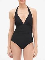 Сдельный черный женский купальник монокини GAP размер XS S оригинал