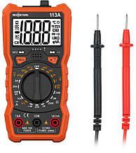 Мультиметр RICHMETERS RM113A с детектором скрытой проводки