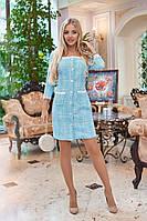 Платье / букле, кружево / Украина 40-1130, фото 1