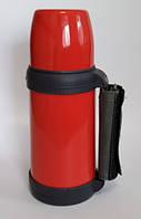 Вакуумный термос Con Brio  0,6 л Красный ручка