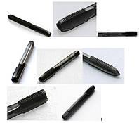 Метчики ручные штучные, У7А (У-9, У-12А), 9ХС, для нарезание глухой и сквозной резьбы