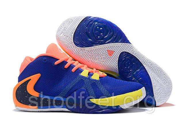 Кроссовки Nike Zoom Freak 1 EP Cyan-blue / Orange