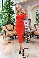 Платье / креп-дайвинг с люрексом / Украина 40-1210, фото 1