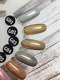 Гель-лак TK Vip-product G-05 (Golografik), 8 мл, фото 5