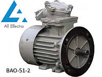 Взрывозащищенный электродвигатель ВАО-51-2 10кВт 3000об/мин