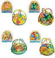 Коврик детский для младенца 8801-36-37-41-43  93-83см, Bambi