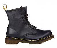 """Женские ботинки Dr.Martens 1460 Navy Smooth """"Vegan"""" размер 39 (116011-39)"""