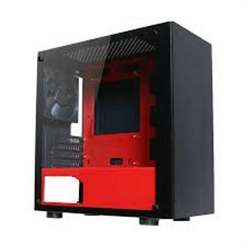 Корпус Tecware Nexus M Black/Red (TW-CA-NEXUS-M-RD) без БП
