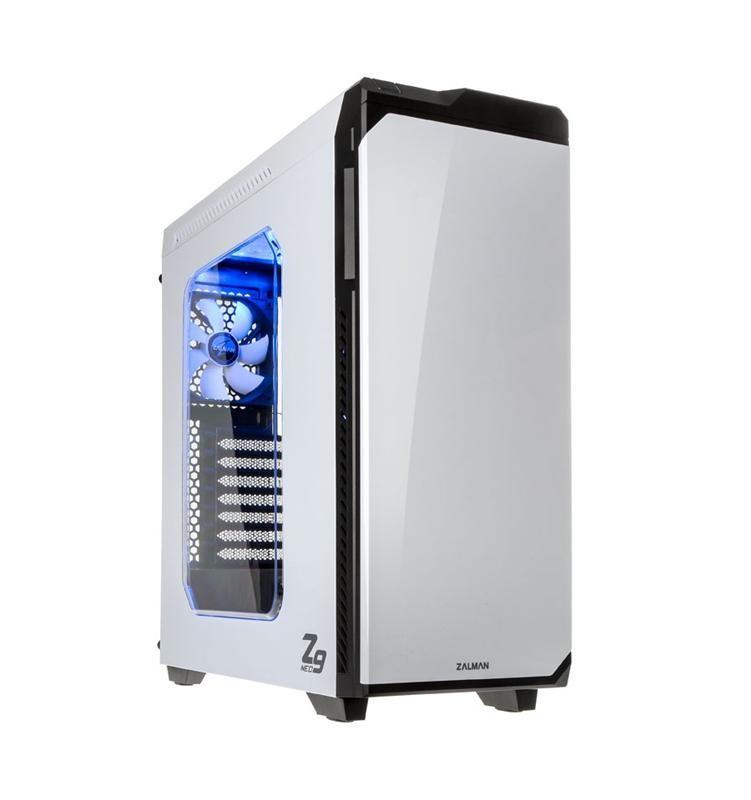 Корпус ZALMAN Z9 NEO (White) Steel/Plastic, ATX / Micro ATX, Mid Tower