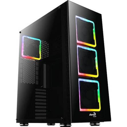 Корпус AEROCOOL PGS Tor Pro RGB TG Black без БП, фото 2