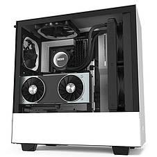 Корпус NZXT H510i Matte White-Black (CA-H510i-W1) без БП, фото 2