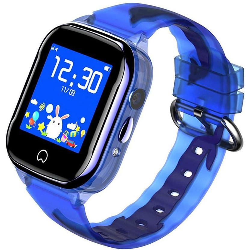 Детские умные часы Smart Baby Watch K21 Blue GPS LBS IP68 камера