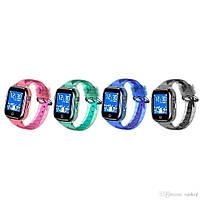 Детские умные часы Smart Baby Watch K21 Blue GPS LBS IP68 камера, фото 2
