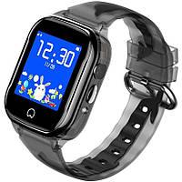 Детские умные часы Smart Baby Watch K21 Blue GPS LBS IP68 камера, фото 5