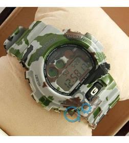 Часы CASIO G-shock DW-6900 Militar (касио джи-шок) Комуфляж Спортивные, Мужские/ Женскиегодинник білий