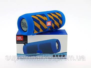 JBL J006 CHARGE Boom Bass портативная колонка Bluetooth, USB, TF, синяя