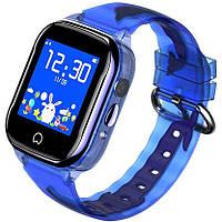 Детские умные часы Smart Baby Watch K21 Green GPS LBS IP68 камера, фото 5