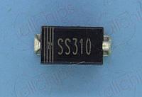 Диод Шотки 3А 100В SS310-SMA DO214AC