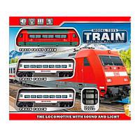 Детский набор железная дорога JHX8806  диам.70см