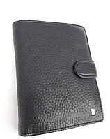 Мужское портмоне с искусственной кожи W39-302 черный Купить портмоне оптом недорого Одесса 7 км