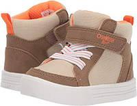 Сникерсы хайтопы OshKosh EUR 28 30 высокие детские теплые кроссовки