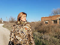 "Костюм для рыбалки и охоты ""DRUID"" Друид Зимний камыш женский"