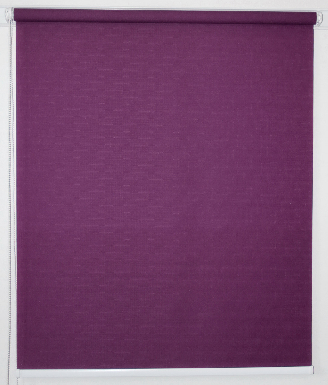 Рулонная штора 375*1500 Лён 613 Фиолетовый