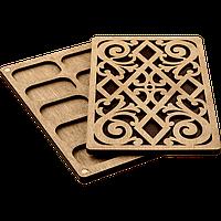 Органайзер для бисера с деревянной крышкой FLZB-048