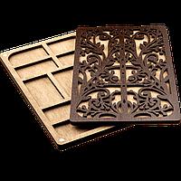Органайзер для бисера с деревянной крышкой FLZB-051