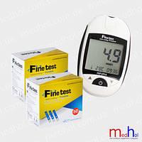 Глюкометр Файнтест Премиум + 100 тест полосок FineTest