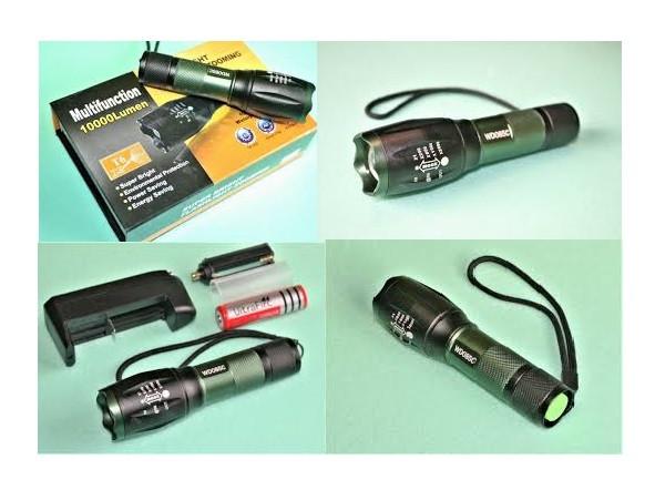Ліхтар ручний тактичний WD-085C для полювання та риболовлі