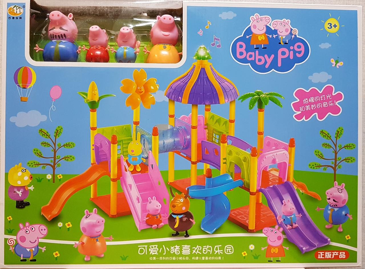 Свинка Пеппа в парке развлечений