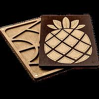 Органайзер для бисера с деревянной крышкой FLZB-066, фото 1