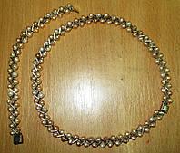 Набор колье и браслет с натуральным  жемчугом, фото 1