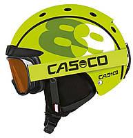 Горнолыжный детский шлем Casco mini pro2 89 neon, 52-56 (MD)