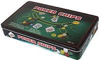 Настольная игра International Toys Trading LTD Покерный набор на 500 фишек с номиналом + сукно (жестяная коробка) (IG-3006)