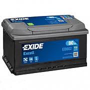 EXIDE 6СТ-80 АзЕ EXCELL EB802 Автомобильный аккумулятор