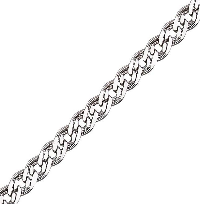 Серебряная цепочка НОННА, МОНА ЛИЗА 4 мм, 50 см, фото 1