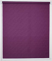 Рулонная штора 1400*1500 Ткань Лён 613 Фиолетовый, фото 1