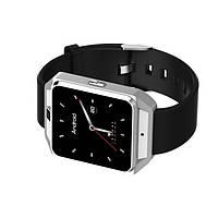 Lemfo M5 - Умные часы-телефон Smart Watch поддержка 4G wi-fi на Android 6.0 (Серебристый) - 911403