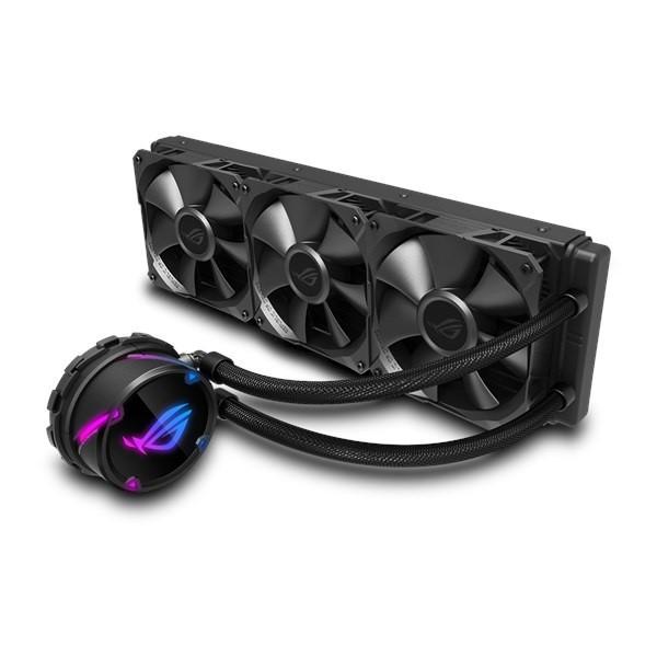Система водяного охлаждения Asus ROG Strix LC 360 (ROG-STRIX-LC-360), Intel:1150/1151/1152/1155/1156/1366/2011/2011-3/2066, AMD:AM4/TR4, 394x121x27мм,