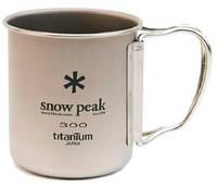 Кружка Snow Peak TI-SINGLE 300 CUP FH